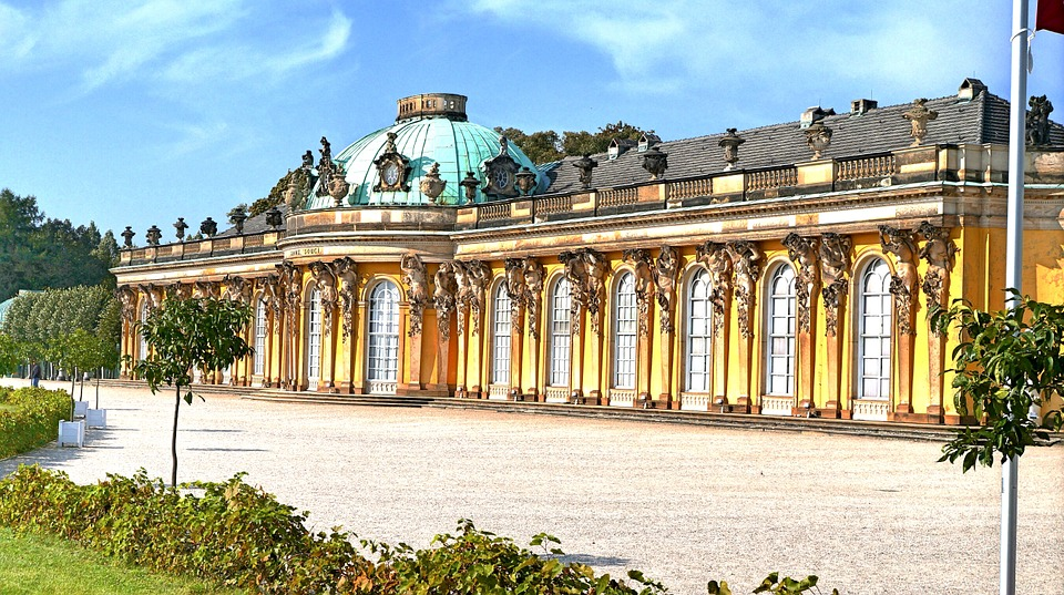 Weinbergschloss in Sanssouci, Potsdam.