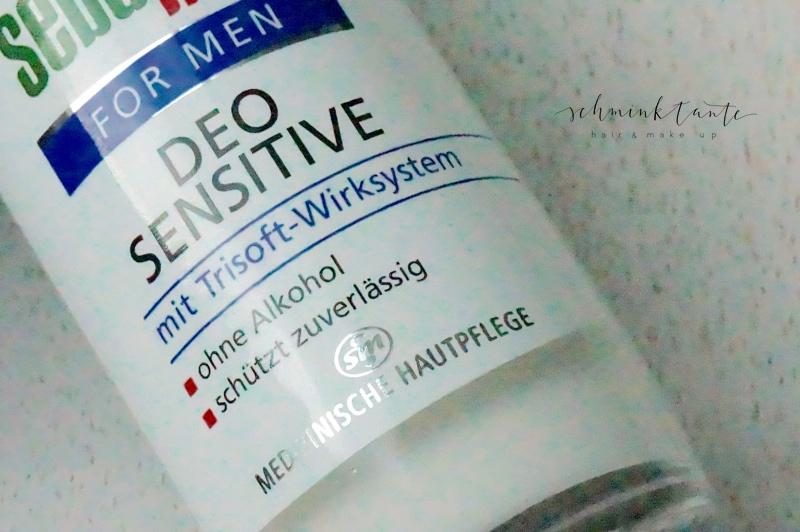 Deo sensitive, Deodorant, Achsel, Schwitzen, Schweiß, Schweißgeruch, Deoroller, Sebamed, for men